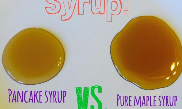 Pancake Syrup vs. Pure Maple Syrup