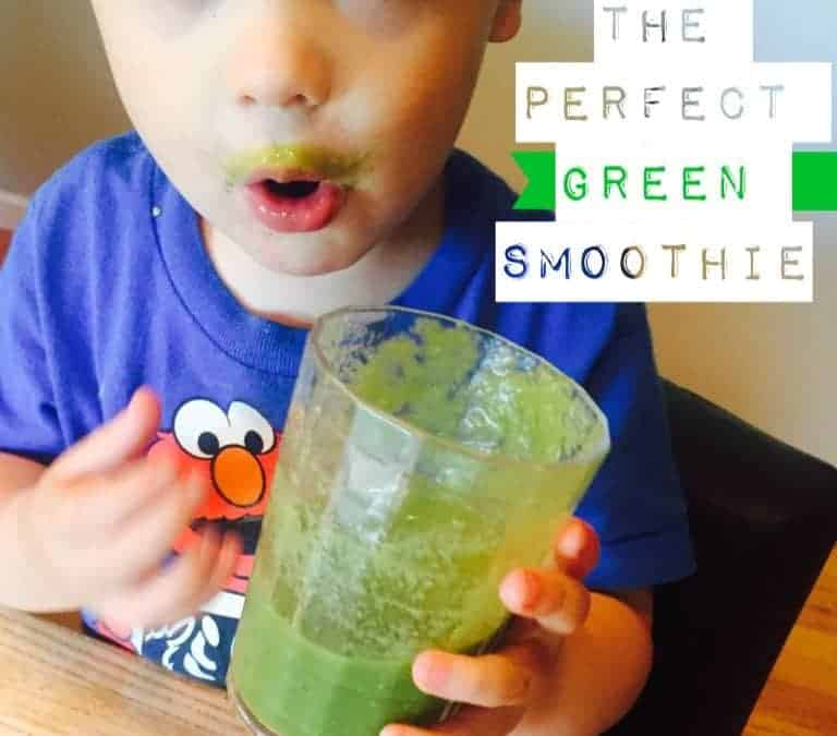 """The PERFECT green smoothie! With an ingredient that makes you go """"huh?!"""""""