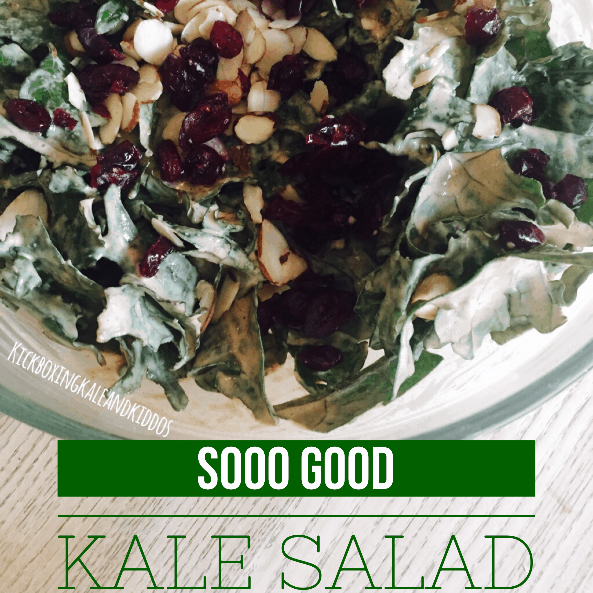 Addicting Kale Salad