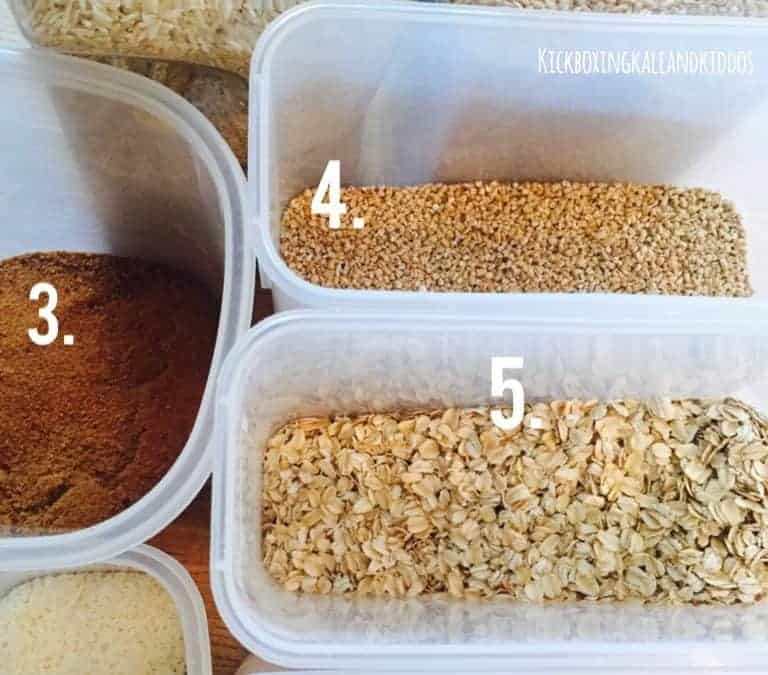 Stock your healthy pantry- buying in bulk