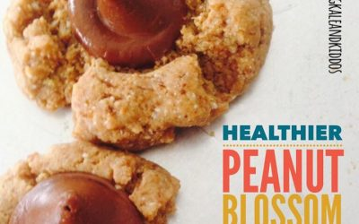 Healthier Peanut Butter Blossom Cookies