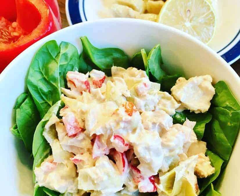 Artichoke Tuna Salad from The Masters Hammer and Chisel