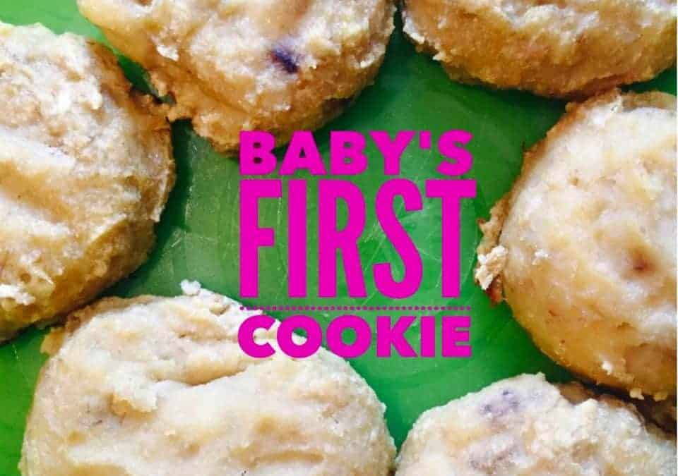 Baby's First Healthy Cookie