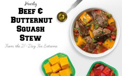 Beef & Butternut Squash Stew (from 21 Day Fix Extreme)