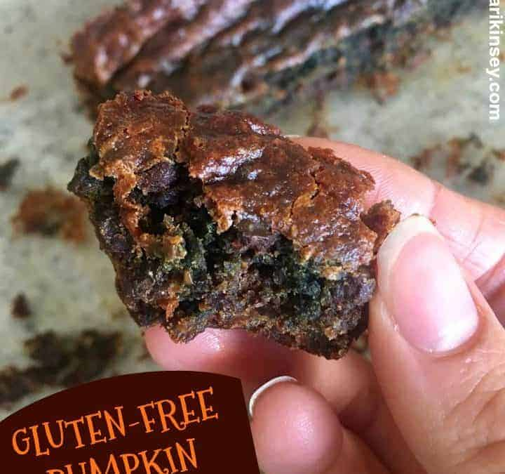 Gluten-Free Pumpkin Brownies!