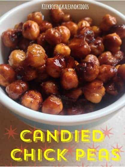 Candied Chick Peas