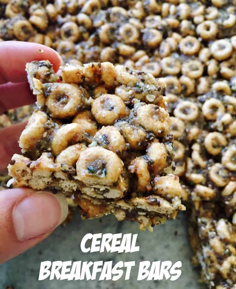 Cereal Breakfast Bars