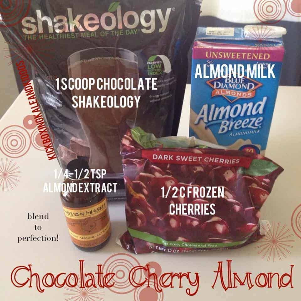 Chocolate Cherry Almond Shakeology