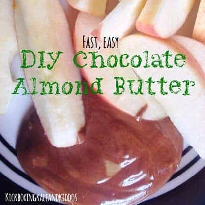 DIY Chocolate Almond Butter