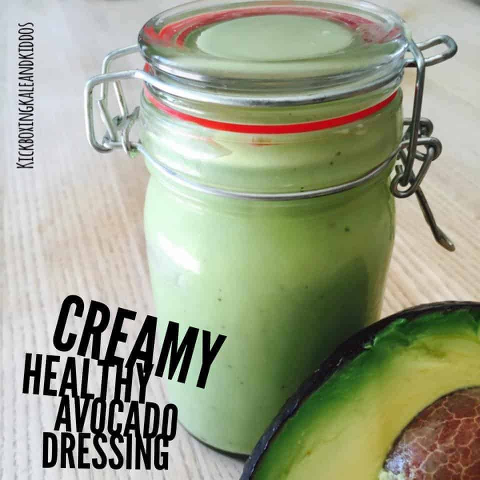 Creamy Healthy Avocado Dressing