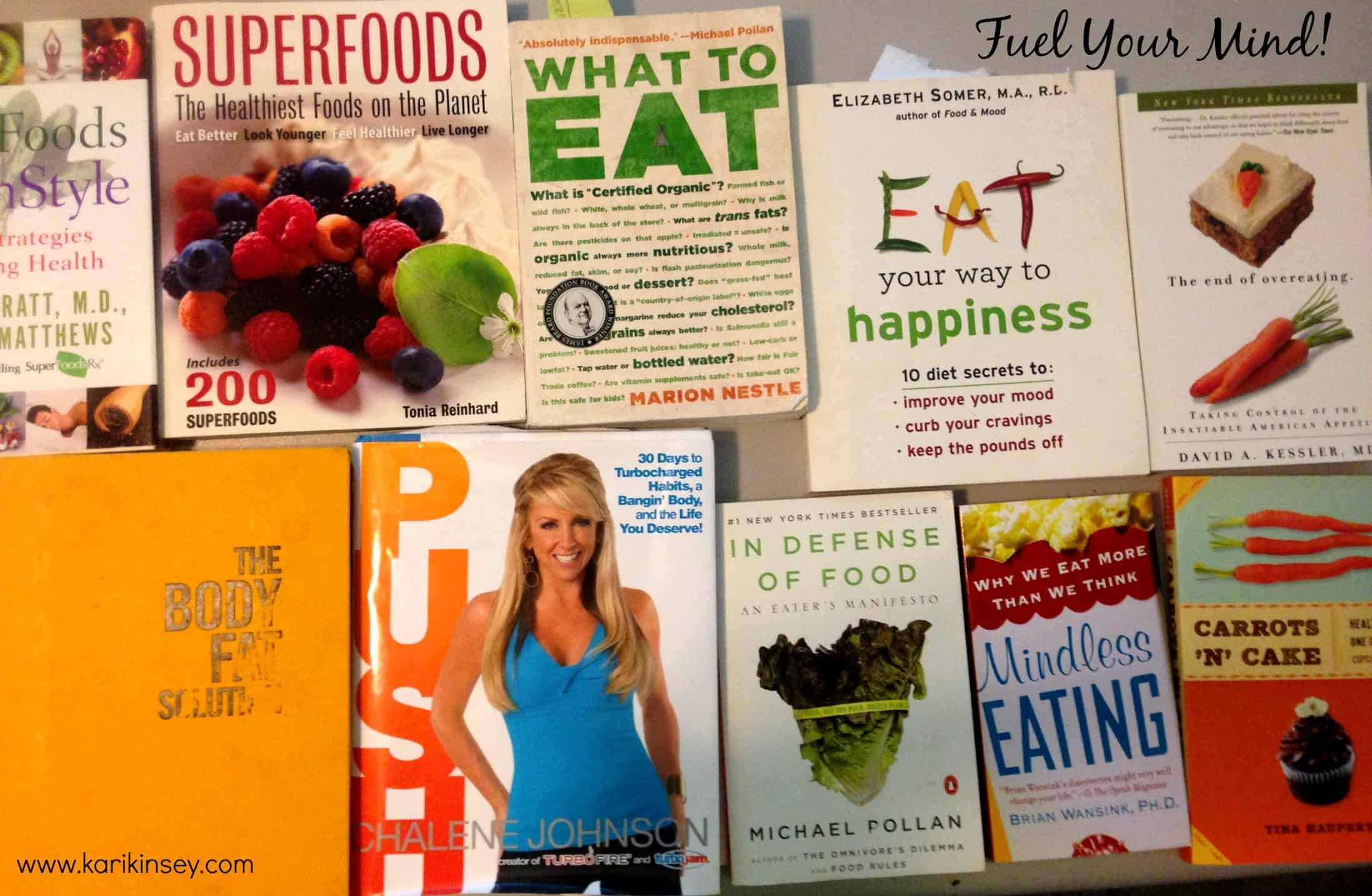 Top Nutrition/Food Books