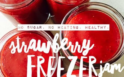 Healthy Chia Seed Freezer Jam
