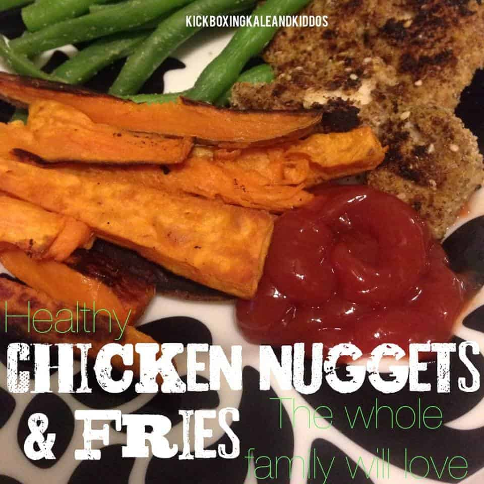 Healthy Chicken Nuggets & Fries