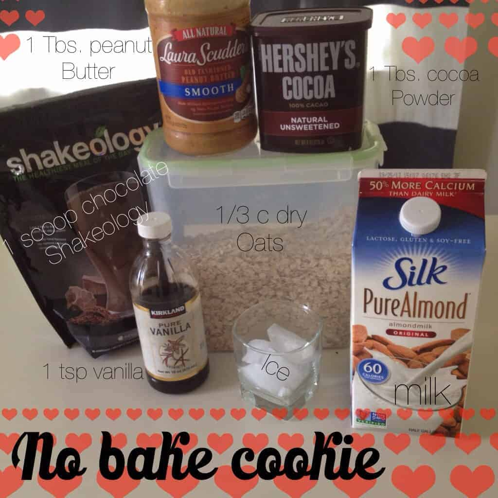 No Bake Cookie Shakeology