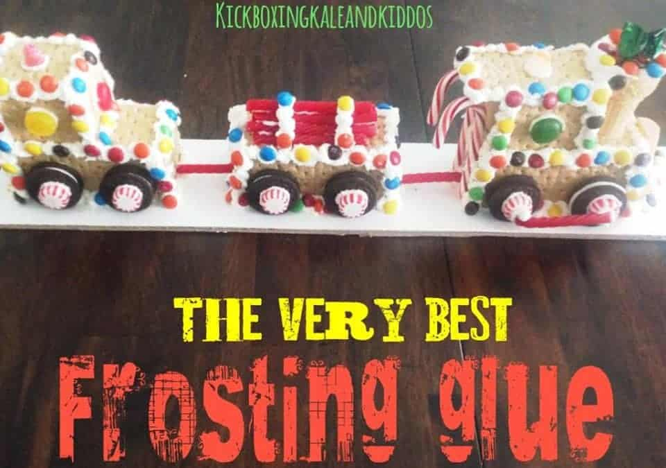 The Very Best Frosting Glue